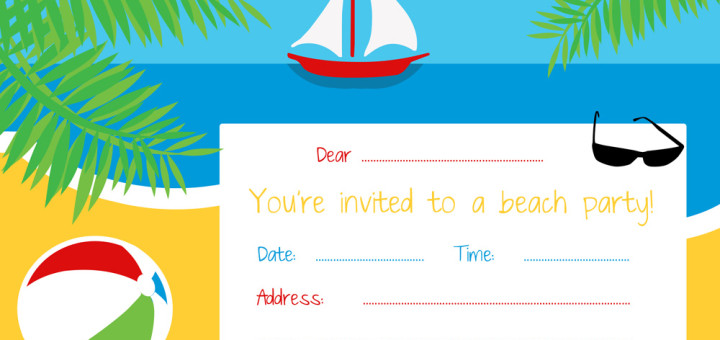 Free Party Invitations by Ruby and the Rabbit - free party invitation templates