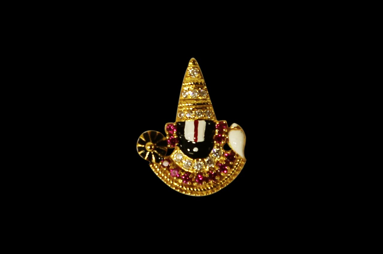 Venkateswara Swamy Hd Wallpapers Tirupati Balaji Locket In Pure Gold Design I Rudraksha