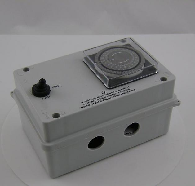 Electrical Box For Above Ground Pool Ip55 Harmo Pool