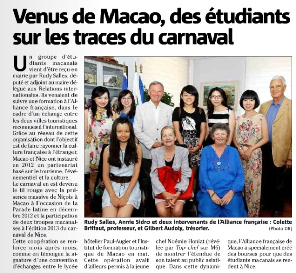 2013.09.04 Rudy accueille une délégation de Macao