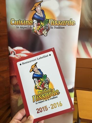 Label Cuisine nissarde 2015 2016