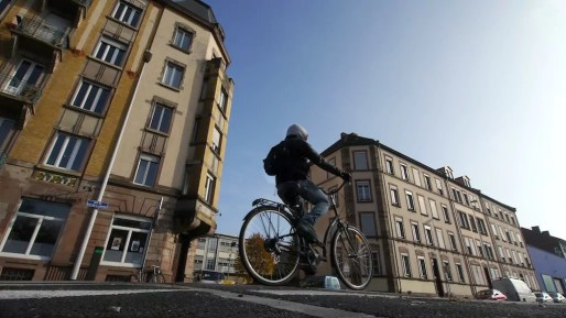 Rude environnement pour les cyclistes (Photo GG)