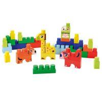 Ecoiffier - Briques de construction Abrick : Baril animaux ...