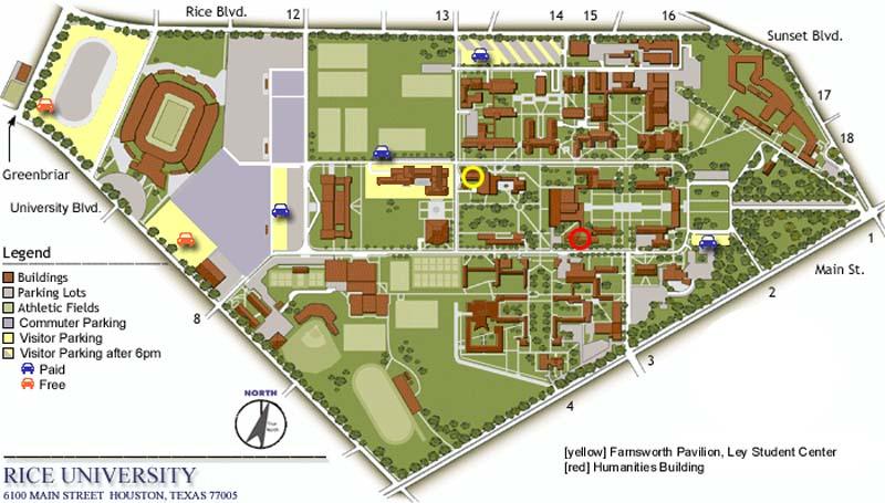 university of houston campus map