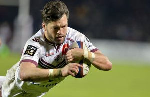 Adam Ashley-Cooper scored a hat trick for Bordeaux