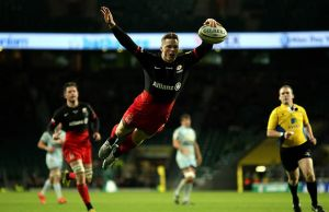 Chris Ashton scored two tries in the contest
