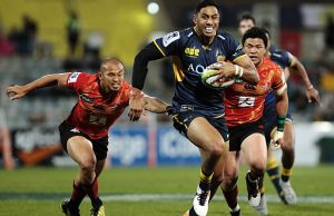 Nigel Ah Wong scored a try for the Brumbies