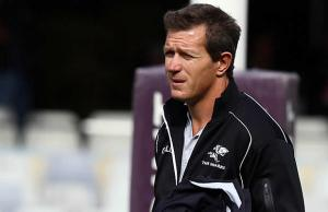 Sharks assistant coach Ryan Strudwick