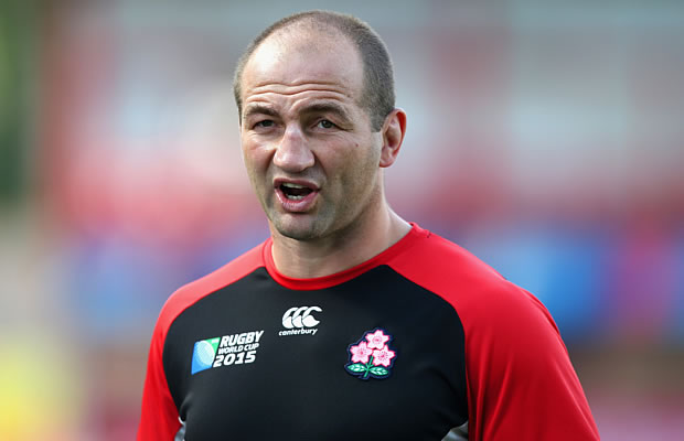 The RFU have not approached Steve Borthwick yet