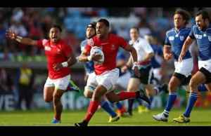 Tonga beat Namibia in their world cup match
