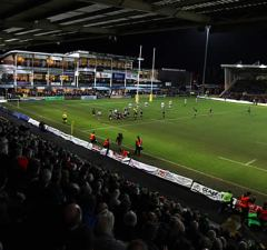 Northampton Saints host London Irish at Franklins Gardens