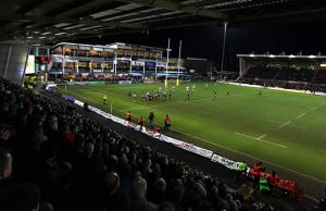 Northampton Saints host Gloucester at Franklins Gardens