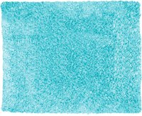 Blue Fuzzy Rug - Rugs Ideas