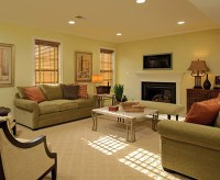 Make it Large: Rooms with Recessed Lighting