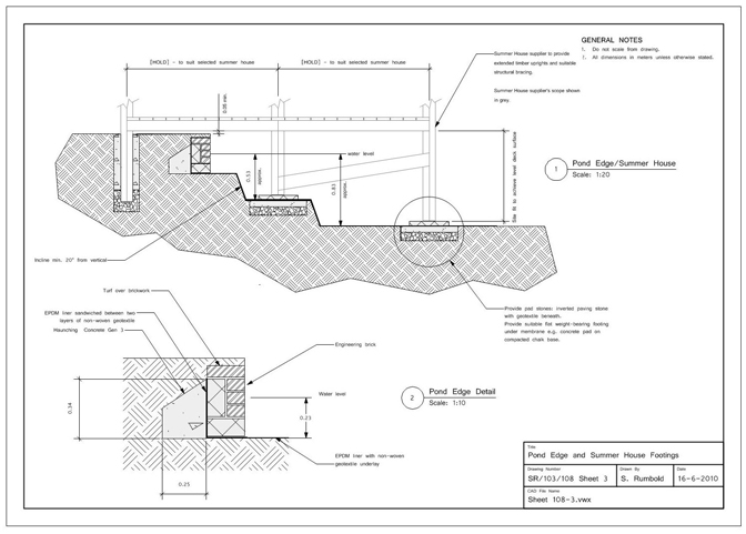 CAD DETAILS  HANDRAIL   BALUSTRADE - STAINLESS STEEL \ 15mm RODS - sample construction timeline