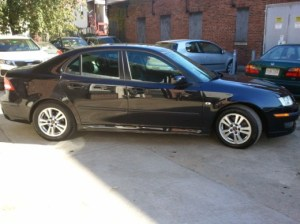 Photo of repaired Saab at Glenville Terrace Auto Body