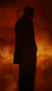 Photo of Luther silhouette