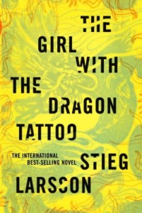 Photo of Girl with the Dragon Tattoo book cover