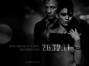 Photo of the Girl with the Dragon Tattoo US movie poster