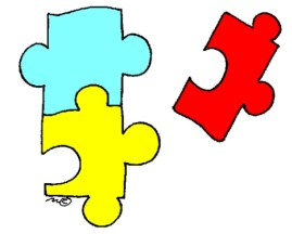 Photo of puzzle pieces