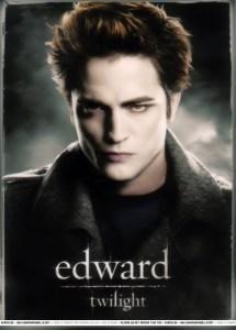 Photo of Robert Pattinson as Edward in Twilight movie