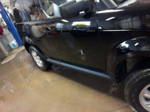 Photo of repaired Element at Glenville Terrace Auto Body shop