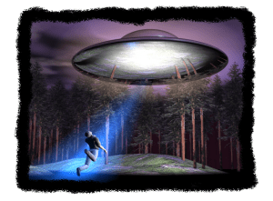 Reconstruction of an alien abduction.