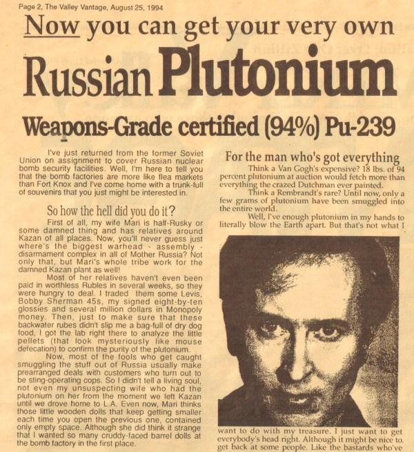 Plutonium 1