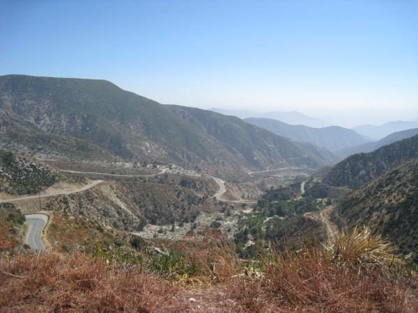 The San Gabriel Mountains hide all screams