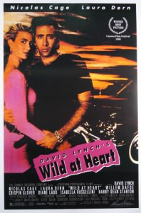 Wild At Heart theatrical poster © 1990 The Samual Goldwyn Compnay