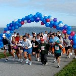 The 1st Annual Brandon Motta 5K Race at Colt State Park in Bristol, R.I.