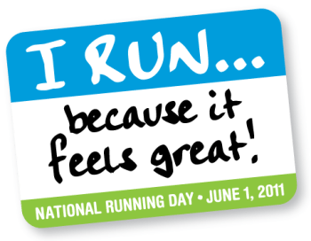 National Running Day 2011, free events