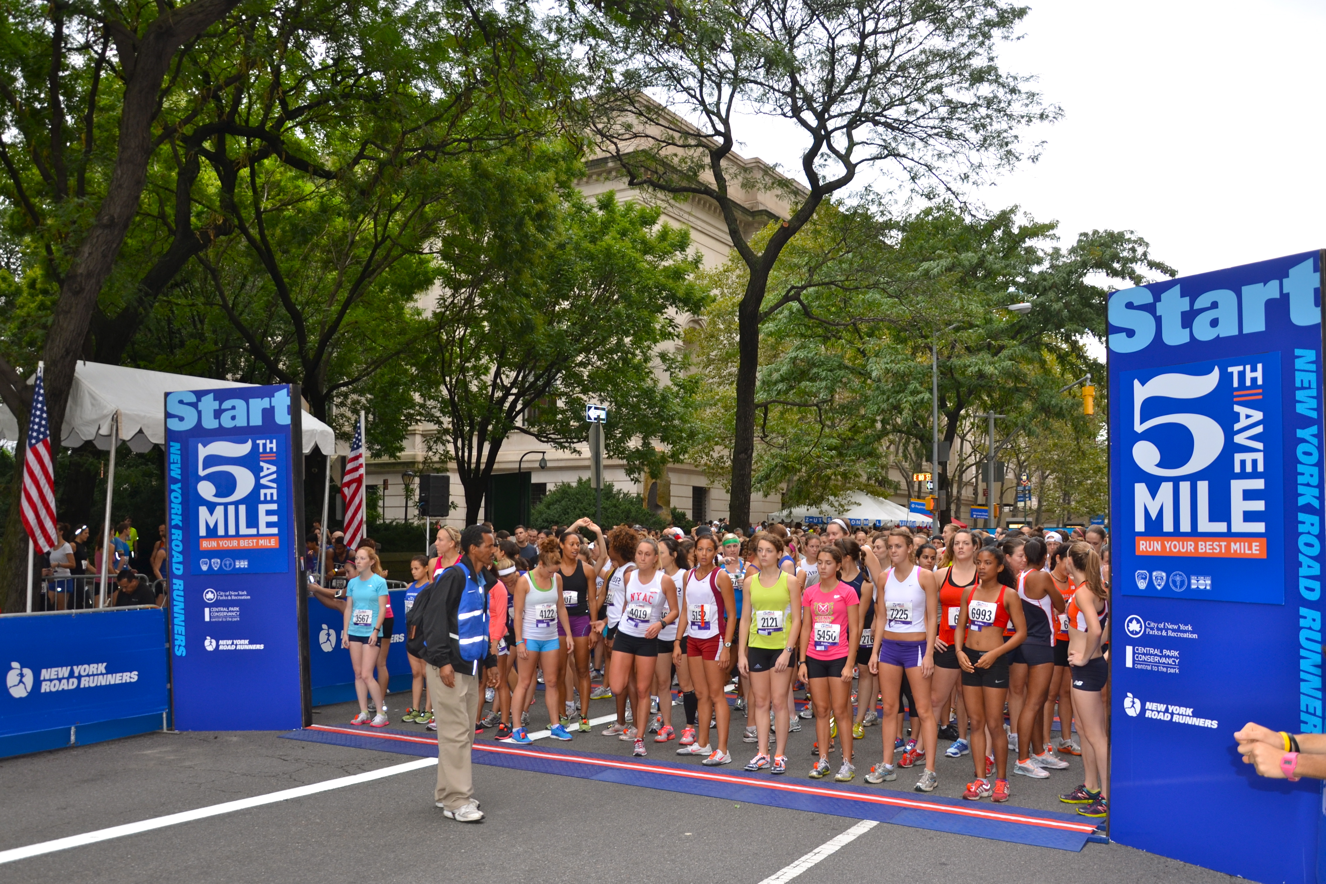 Fifth Avenue Mile Start