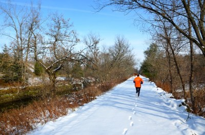 running streak, Runner's World, winter running