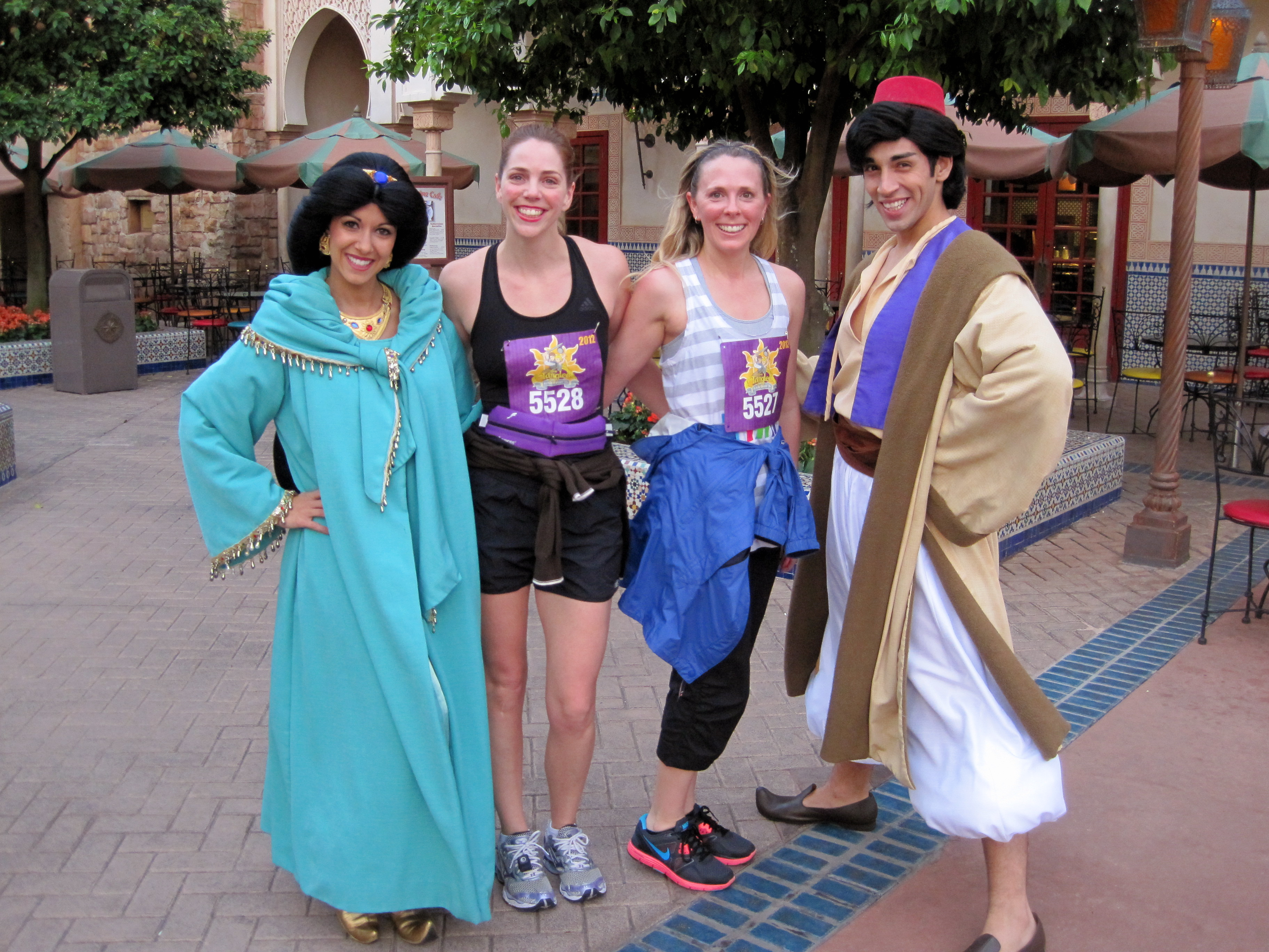With Jasmine and Aladdin in Morocco
