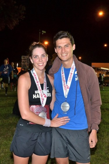 running and love, Disney Wine & Dine Half Marathon, Disney proposal, running proposal
