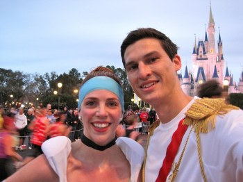 Race Report: Disney's Princess Half Marathon--Cinderella Castle
