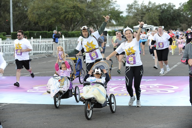 Disney 5K's are stroller friendly