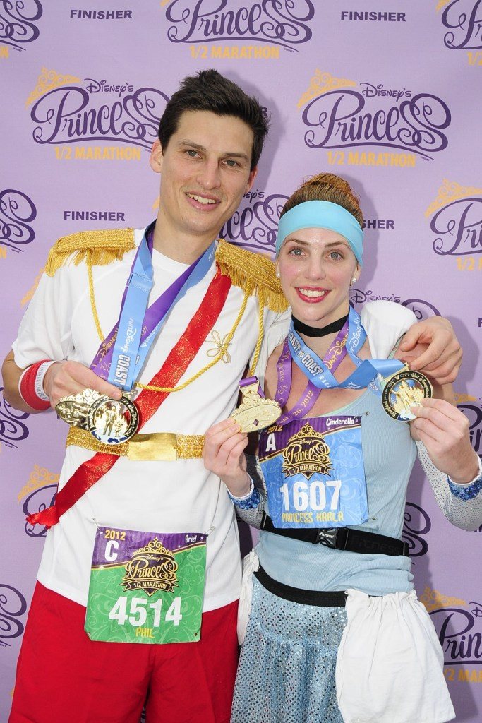 How To Make Cinderella & Prince Charming Disney Running Costume