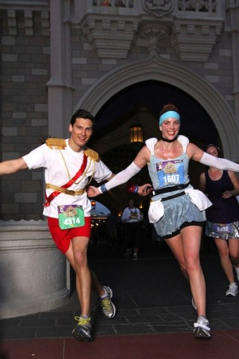 Cinderella, Prince Charming, running costumes, races, Disney's Princess Half Marathon, run Disney