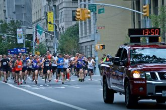 Fifth Avenue Mile, road mile, New York City