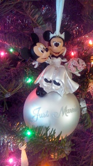 Disney running, run Disney, Disney wedding, Disney ornament, Mickey and Minne