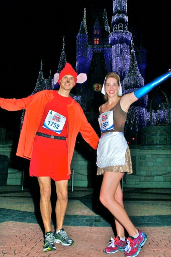 Walt Disney World Marathon, Disney running, run Disney, Cinderella Castle