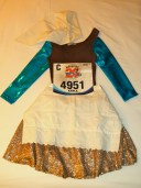 Walt Disney World Marathon, ruDisney, Cinderella, running costume, Cinderella running costume