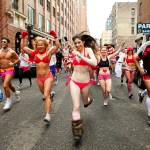 underwear run, Valentine's Day run,