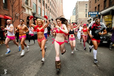 underwear run, Valentine's Day run, undie run