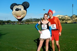 Walt Disney World Marathon, Disney running, runDisney, Cinderella in rags, Jacque the mouse, running costume