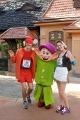 run Disney, Disney running, Walt Disney World Marathon, Cinderella in rags, Jacque the mouse, running costume