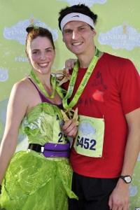 Disney running, run Disney, Disney Half Marathon, Tinker Bell Half Marathon, Tinker Bell running costume, runDisney