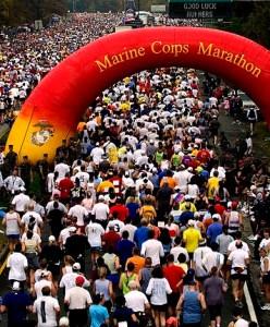 Marine Corps Marathon, DC marathon
